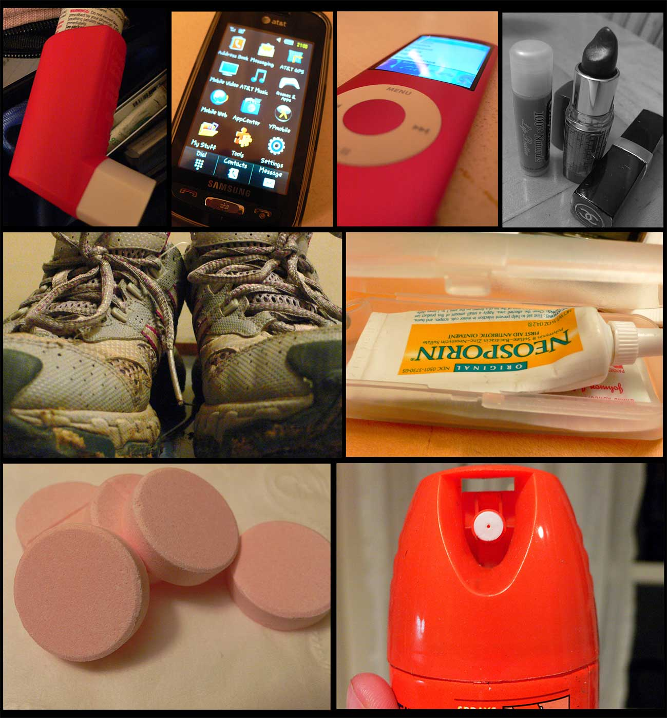 the things i carry with me, por si las moscas