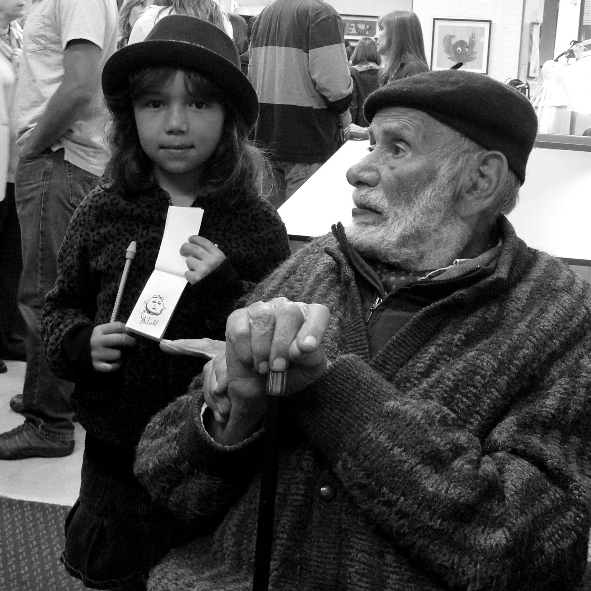 Milton Hebald buys Dani's work…