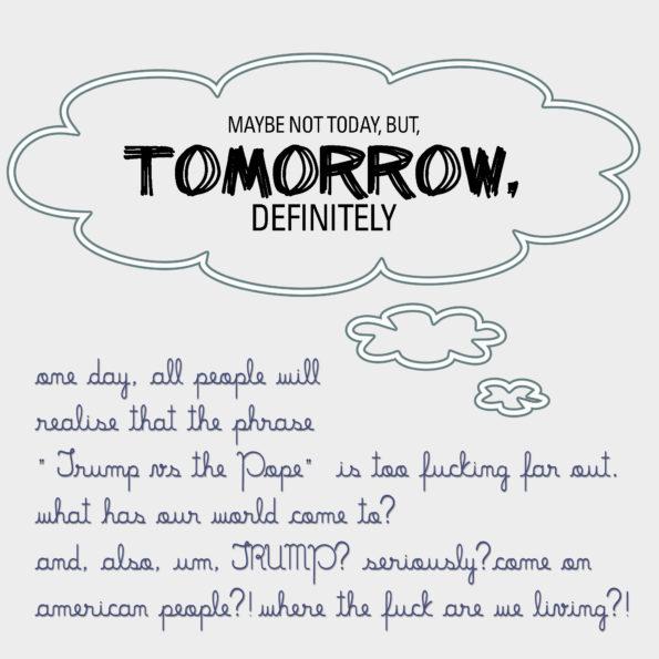 tomorrow, definitely 4